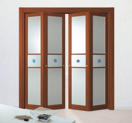 Фото складных дверей для гардеробной