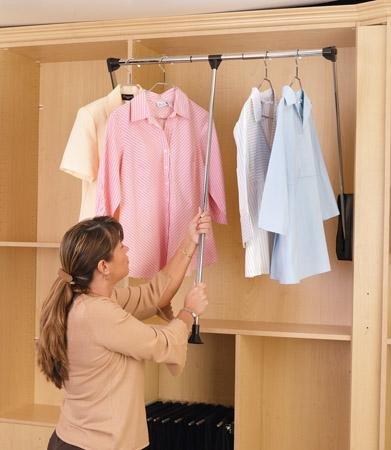 Как работает гардеробный лифт