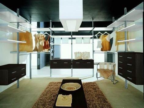 Фото гардеробной системы из Италии Stilos