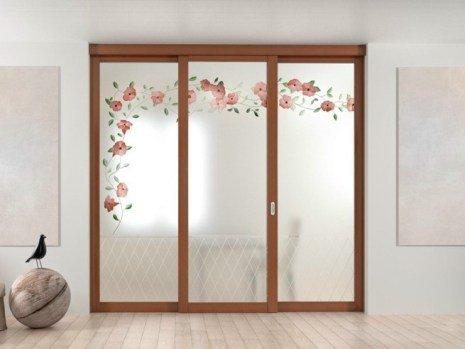 Фото стеклянных дверей для гардеробной