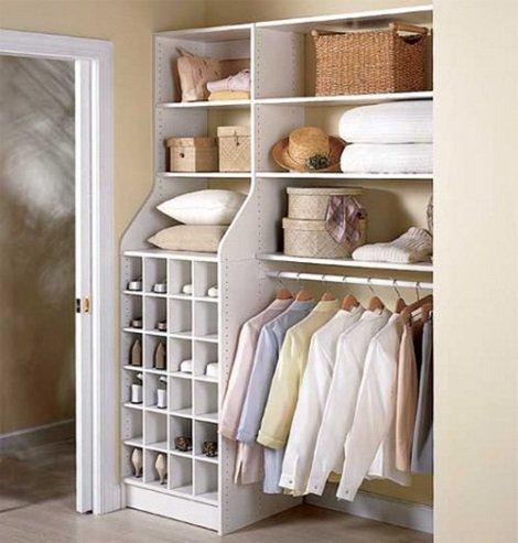 Фото хранения головных уборов в гардеробной