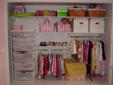 Фото детской гардеробной