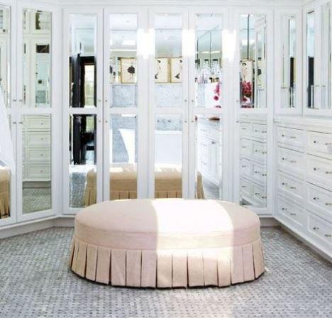 Фото зеркальных гардеробных